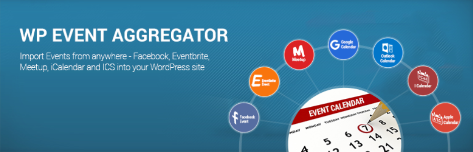 WP Event Aggregator - Event Management Wordpress plugin