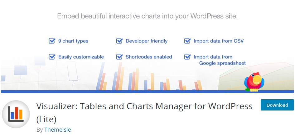 WordPress Table plugin