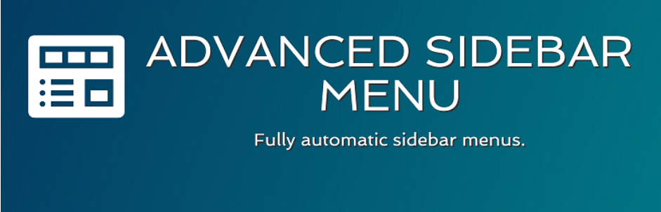 Advanced Sidebar Menu _ WordPress.org