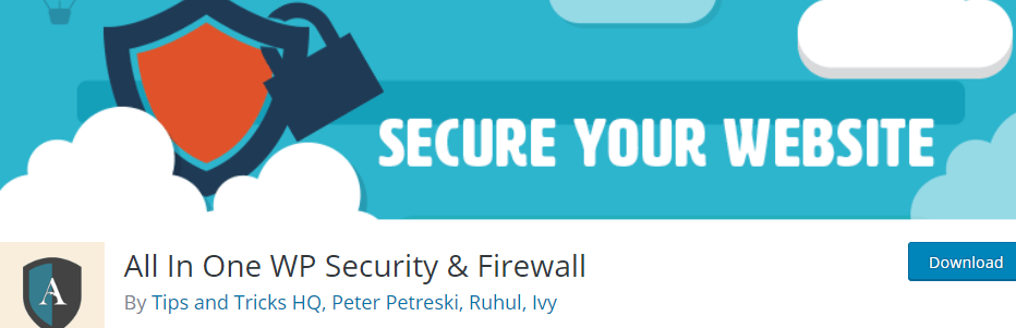All In One WP Security & Firewall _ WordPress.org