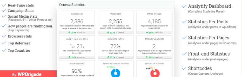 Analytify – Google Analytics Dashboard Plugin for WordPress _ WordPress.org