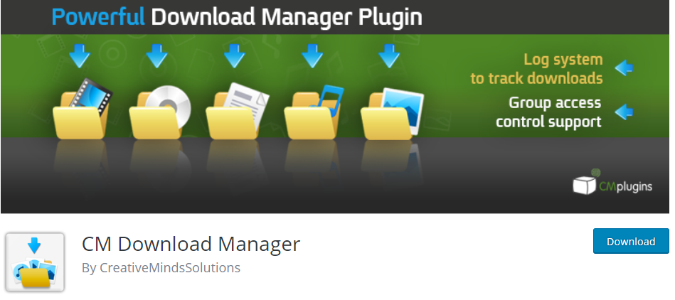 WordPress Download Manager plugin