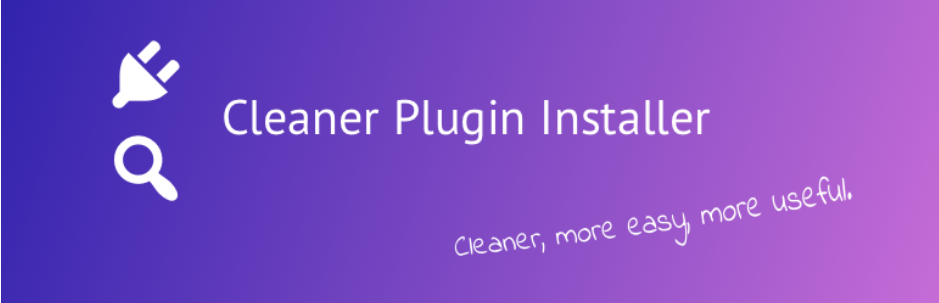 Cleaner Plugin Installer _ WordPress.org