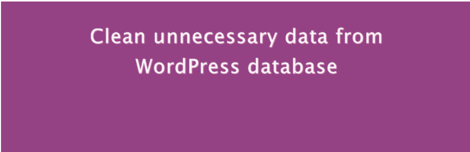 Easy WP Cleaner _ WordPress.org