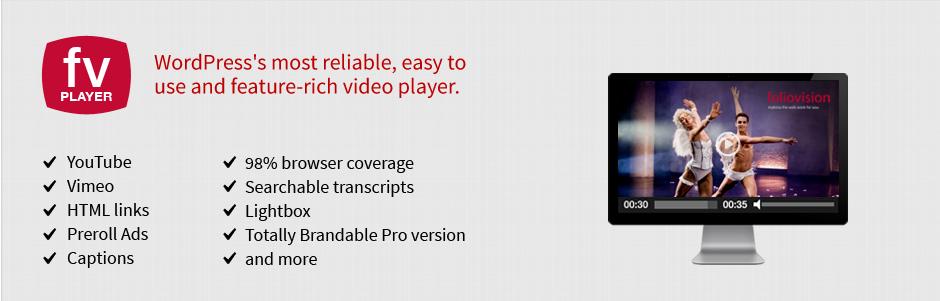 FV Flowplayer Video Player _ WordPress.org