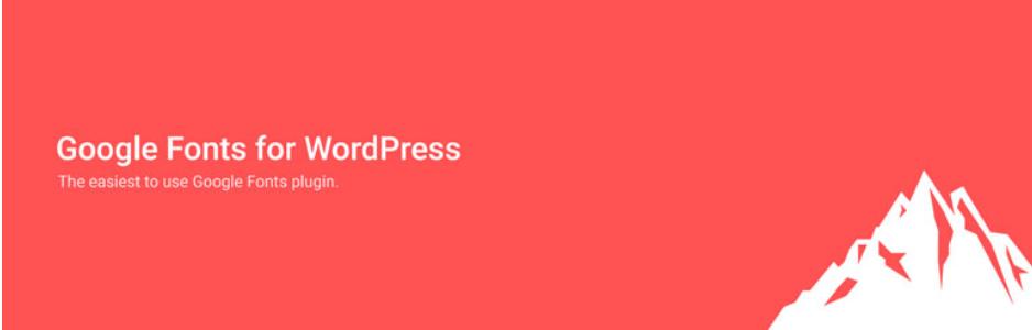 Google Fonts for WordPress _ WordPress.org
