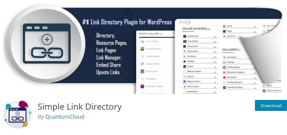 WordPress Links plugin