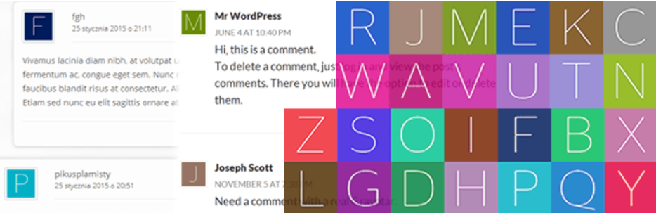 WP First Letter Avatar _ WordPress.org
