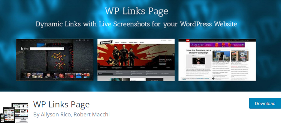 WordPress Links plugin