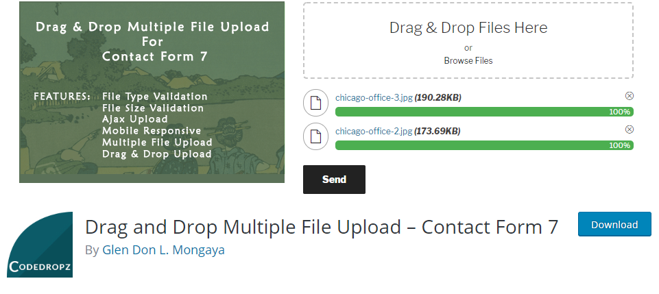 WordPress Upload plugin