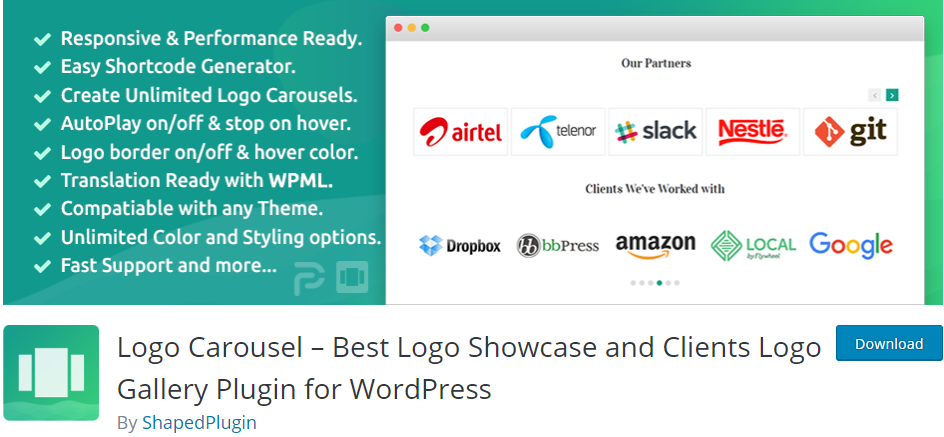 WordPress Logo plugin