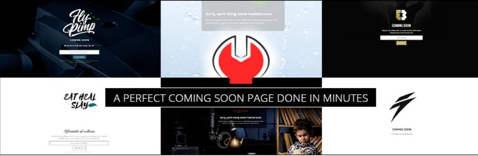 Minimal Coming Soon & Maintenance Mode _ WordPress.org