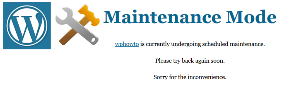 Simple Maintenance _ WordPress.org