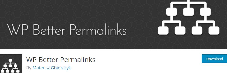 WP Better Permalinks _ WordPress.org