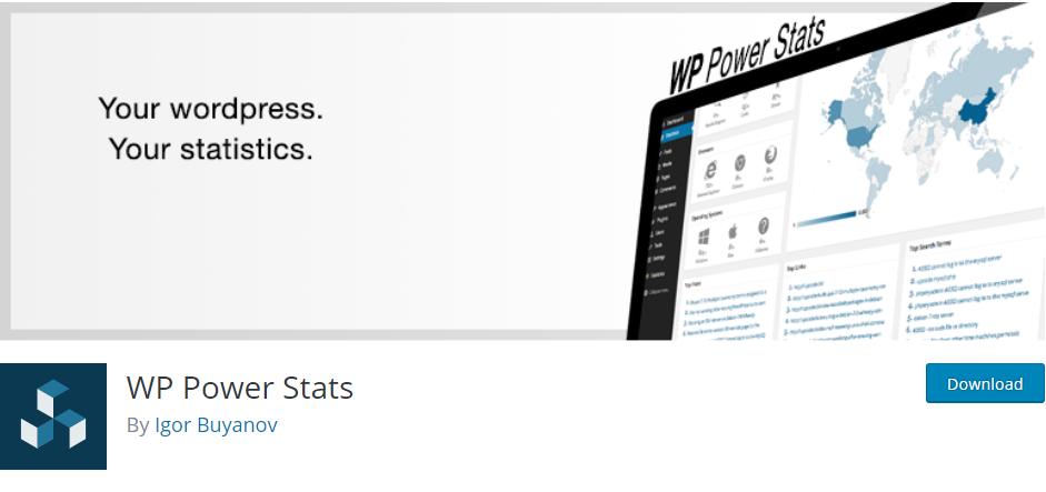 WordPressStatistics plugin