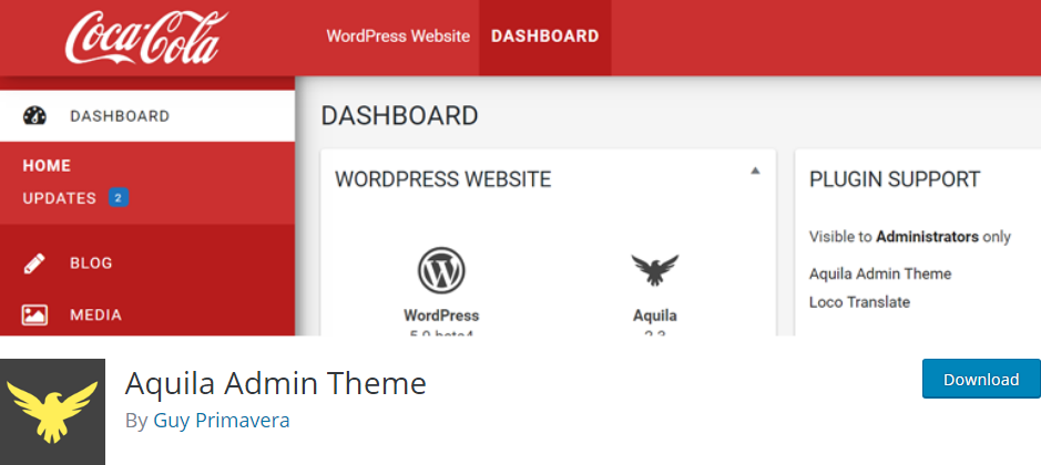 WordPress Admin plugin