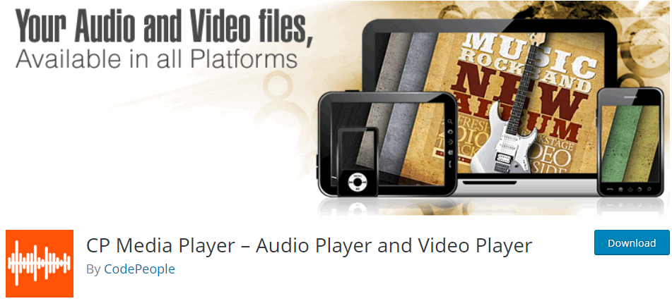 WordPress Audio plugin