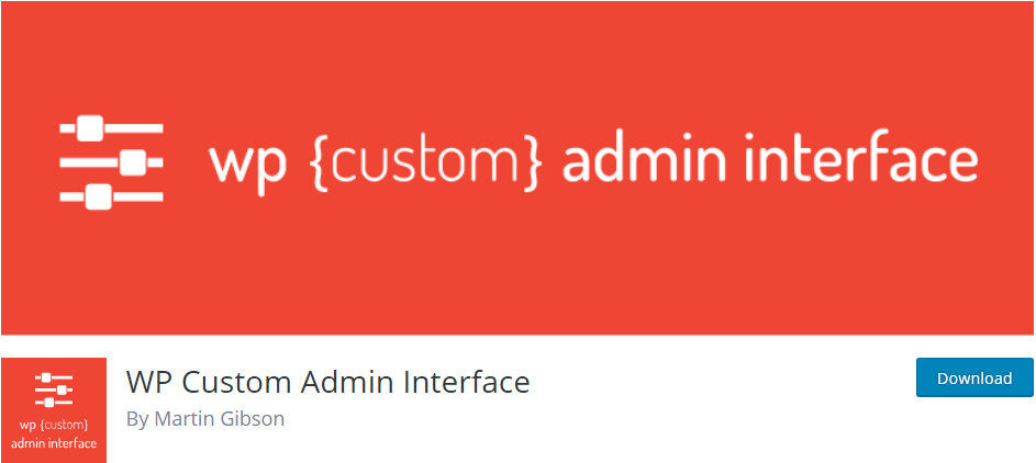 WordPress Admin Panel plugin