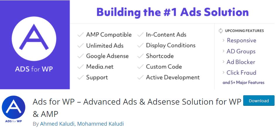 wordpress advertising plugin
