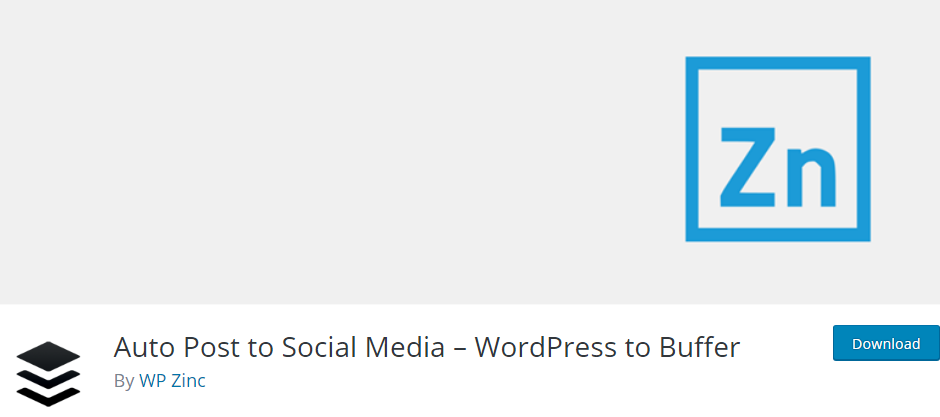 WordPress Social Media plugin