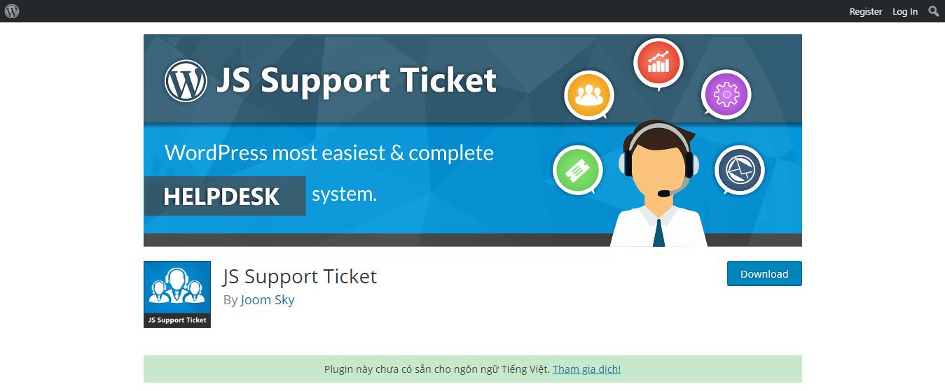 wordpress support plugin