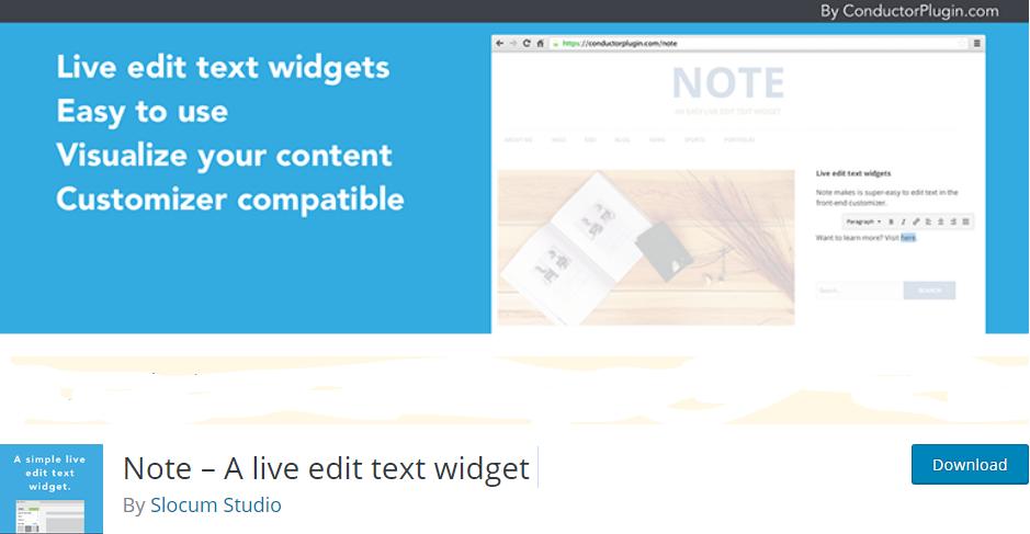 wordpress note taking plugin