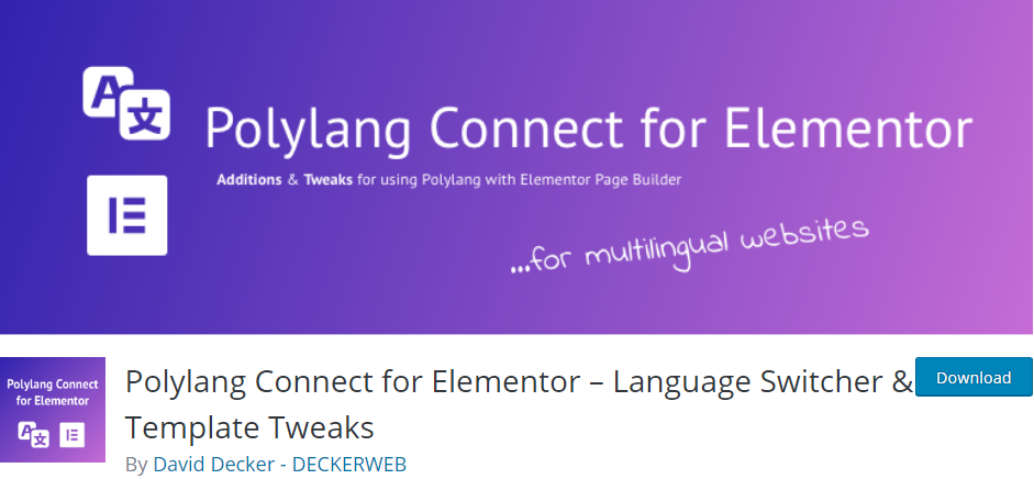 wordpress language plugin