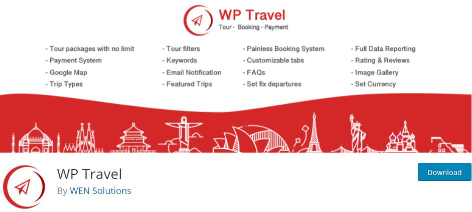 wordpress travel plugin