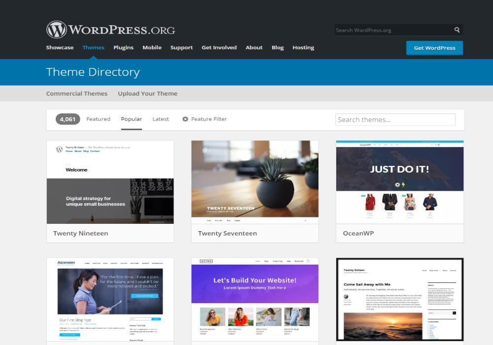 Where can I get free WordPress Themes 2021?