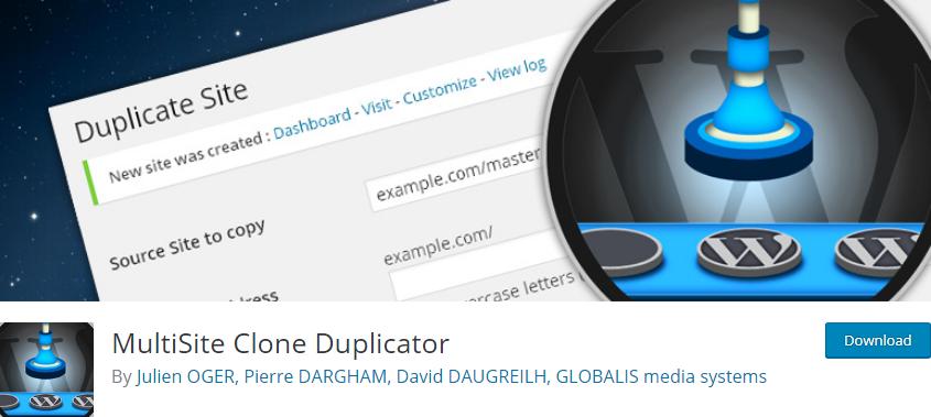 WordPress Multisite plugin