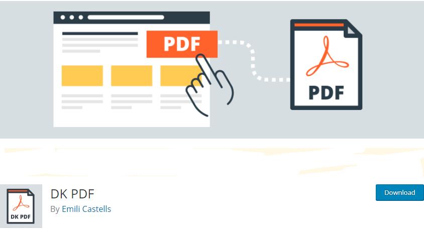 WordPress Ebook plugin
