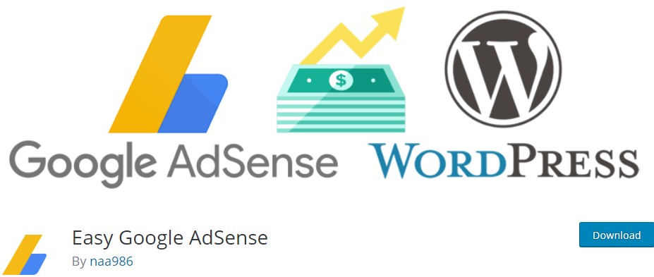WordPress Google Adsense plugin