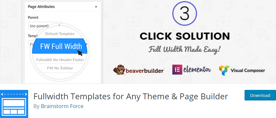 Template WordPress plugin