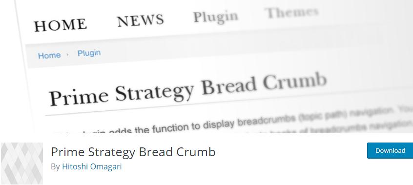 WordPress Breadcrumbs plugin
