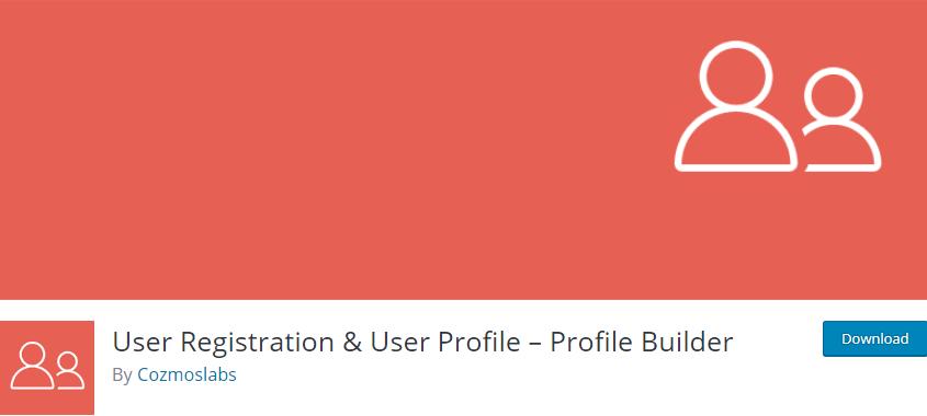 WordPress User Registration plugin