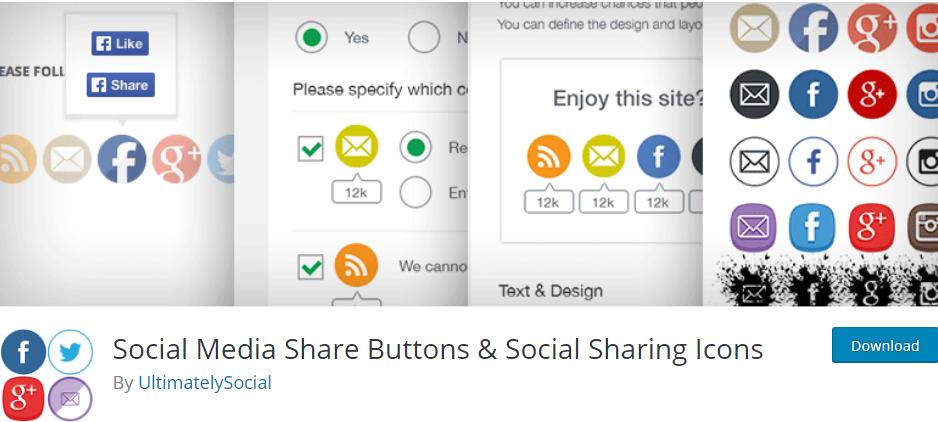 Social Media Icons WordPress Plugin