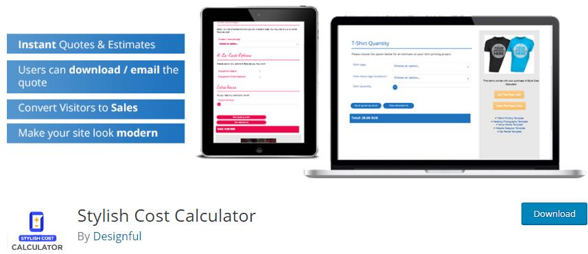WordPress Calculator plugin