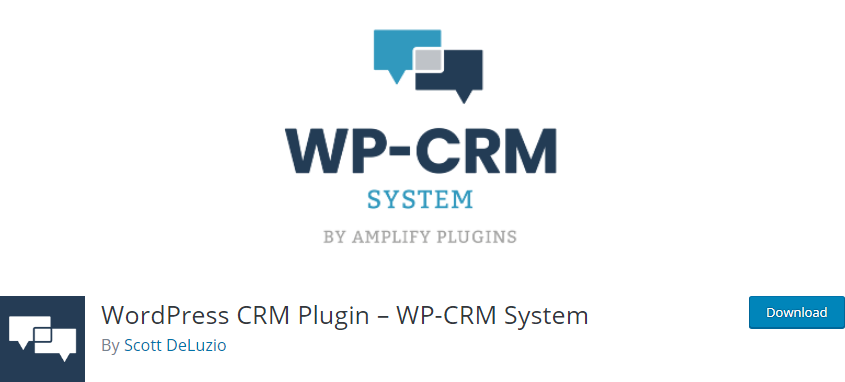 WordPress CRM plugin