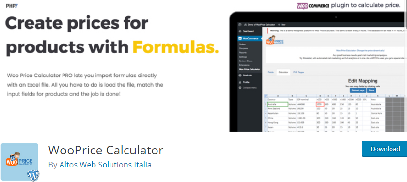 WordPress Calculator plugin