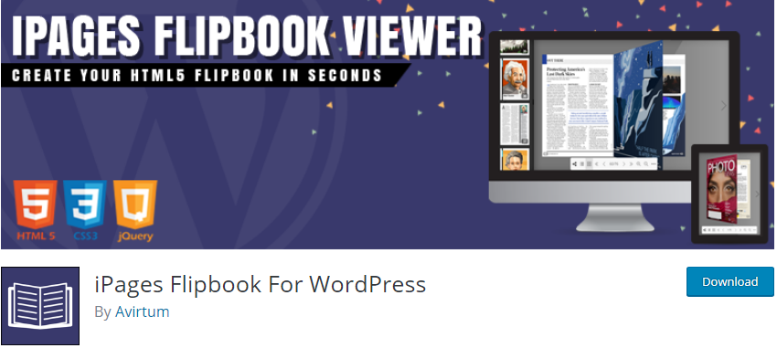 WordPress Ebook plugin