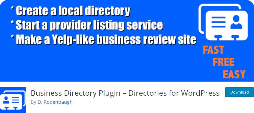 WordPress plugin Business