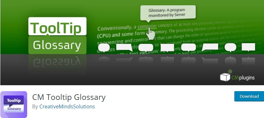 WordPress Glossary plugin