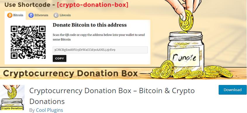 WordPress Bitcoin Payment plugin
