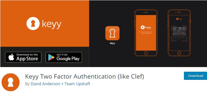 WordPress Two Factor Authentication plugin