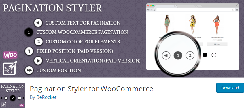 WordPress Pagination plugin