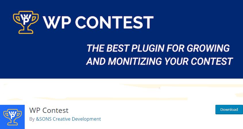 WordPress Contest plugin