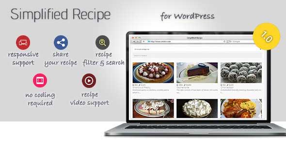 WordPress Recipe plugin