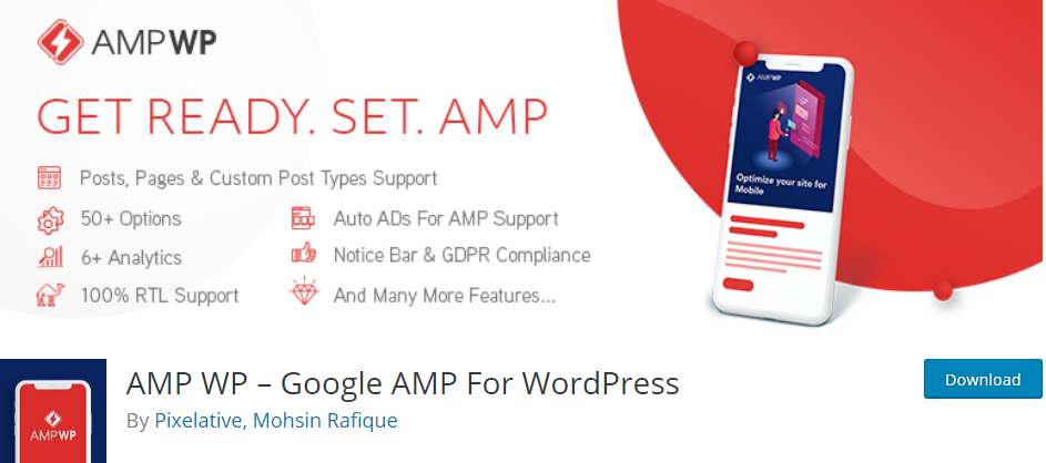 WordPress AMP plugin