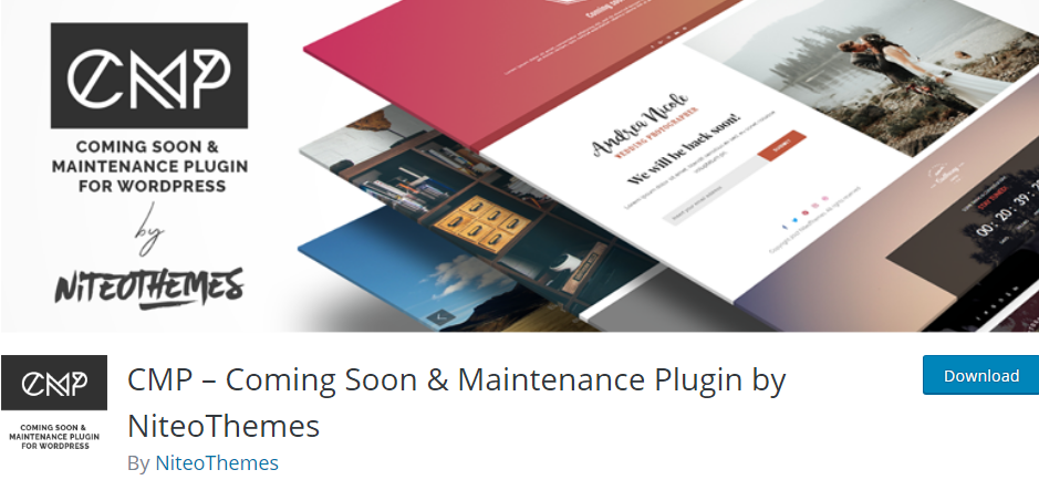 Coming Soon Page WordpPress plugin
