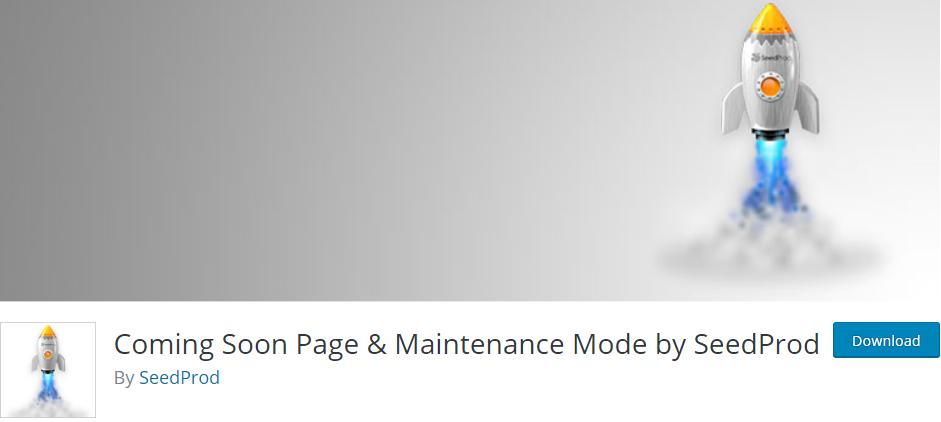 Coming Soon Page WordpPress plugin